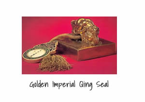 Golden Imperial Qing Seal